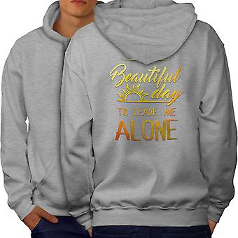 Funny Text Casual Jumper wellcoda Telekinesis Belief Mens Sweatshirt