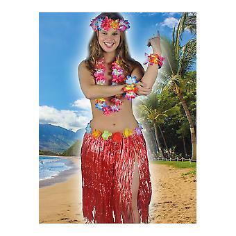 Hawai und tropischen Frauen Hawaii Rock rot