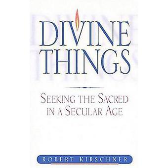 Divine des choses - qui cherchent le sacré dans un âge séculaire par Robert Kirschne