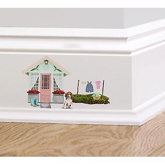 اللون الكامل خرافية الصيف البيت المجلس التفاف على ملصق
