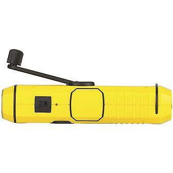 4 en 1 Main Crank Emergency Dynamo Charger w/ Radio & Torch