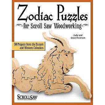 Puzzles de zodiaque pour bois scie à chantourner (scie à chantourner bois & livre des métiers d'art)