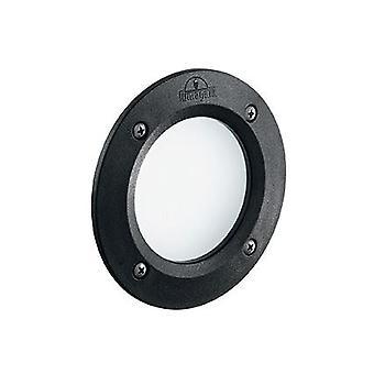 Ideal Lux - Leti redondo IDL096551 luz negra LED empotrada