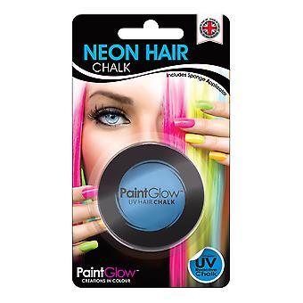 NEON UV HAIR CHALK INTENSE BLUE