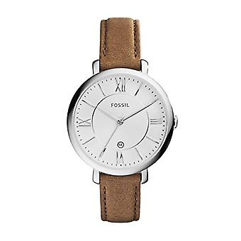 Fossil Womens analog watch with leather ES3708