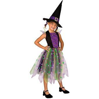 Rainbow Witch Child Costume