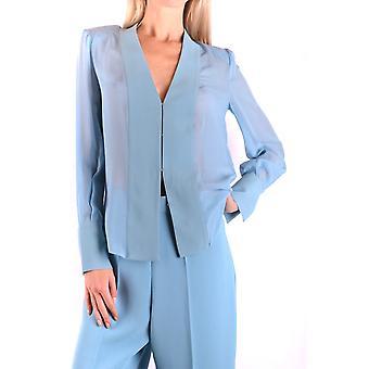 Elisabetta Franchi Ezbc050130 Women's Light Blue Polyester Shirt
