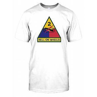 2. Panzerdivision Insignia - Hölle auf Rädern Kinder T Shirt