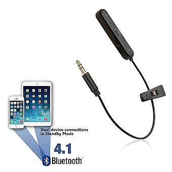 REYTID Universal Bluetooth Adapter for Wired Headphones - Wireless Converter Receiver On-Ear Earphones
