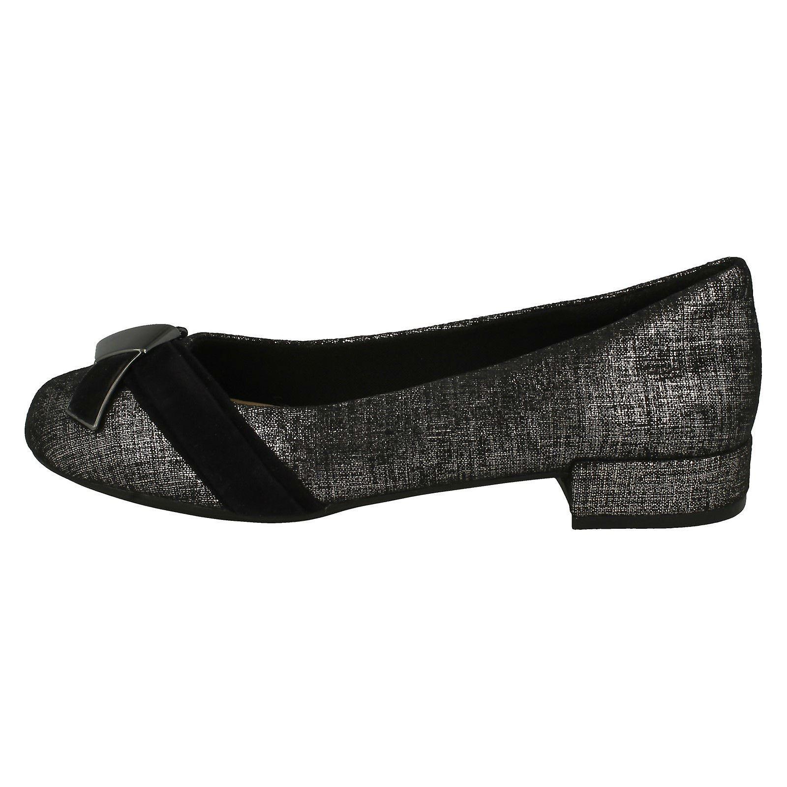 Clarks damskie stylowe krzyż księżyc usługa szczegółowe buty BqdmF