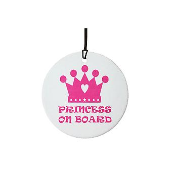 Prinzessin an Bord Auto-Lufterfrischer