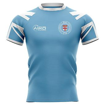 2019-2020 Fiji Flag Concept Rugby Shirt - Adult Long Sleeve