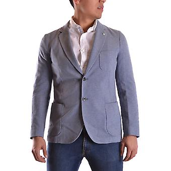 Gant Ezbc144041 Men's Light Blue Cotton Blazer