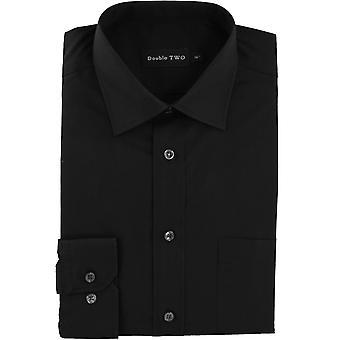 Double Two 'Non-Iron' Long Sleeve Shirt
