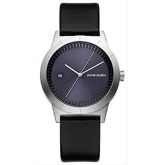 Jacob Jensen Ascent Series Watch - Black/Deep Blue