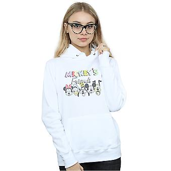 Disney Women's Mickey Mouse Friends Faded Nostalgia Hoodie