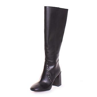 Coach Womens Falon Leather Round Toe Knee High Fashion Boots