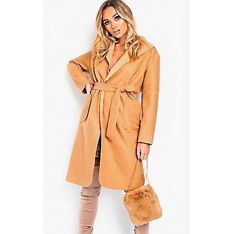 IKRUSH Womens Dills Fluffy Shoulder Bag