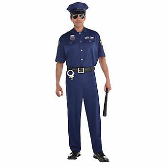 Men Policeman Adult Costume