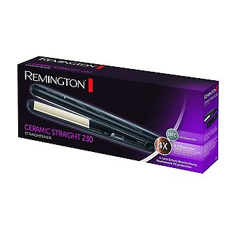Piastra per capelli Remington in ceramica 230 gradi calore (S3500)