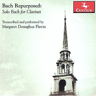 J.S. Bach - Bach Repurposed: Solo Bach for Clarinet [CD] USA import