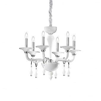 Ideale Lux Miramare 6 Glühbirne Anhänger Licht