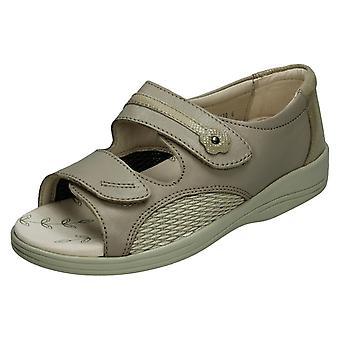 Ladies Padders Open Toe Sandals Graceful