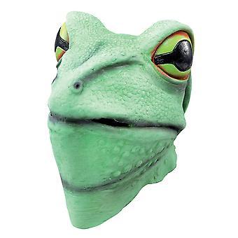 Bristol Novelty Unisex Adults Rubber Frog Mask