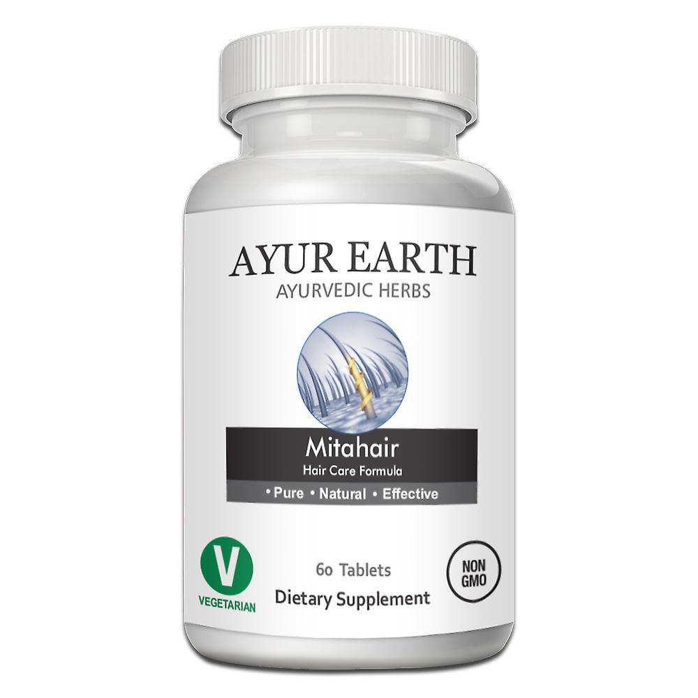 AYUR EARTH Mitahair - Hair Care Unisex Formula Ayurvedic Supplement