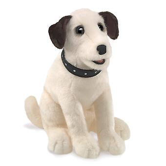 Hand Puppet - Folkmanis - Terrier Sitting New Toys Soft Doll Plush 3132