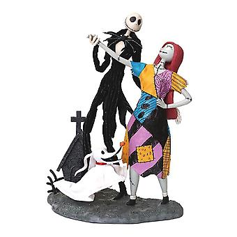 The Nightmare Before Christmas Jack, Sally and Zero Figurine