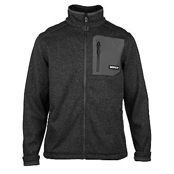 CAT Lifestyle Mens Polar Fleece Zwart