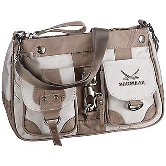 Sansibar Calima B-488 CA 37 Women's shoulder bag 26 x 17 x 10 cm (L x A x P) Beige (Beige (taupe)) 26x17x10 cm (L x x A x P)