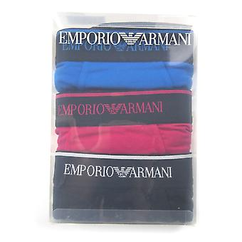 Emporio Armani 3 Pack Boxer Trunk Pink/Blue/Black