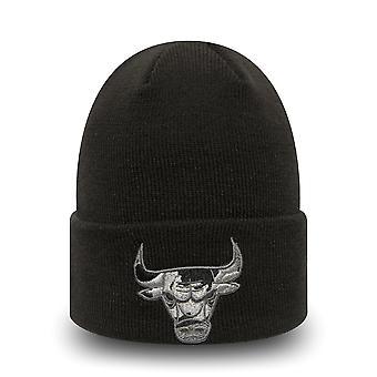 New era malha Beanie KIDS chapéu de inverno-Chicago Bulls