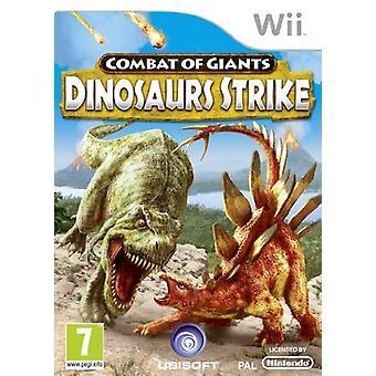 Combat of Giants Dinosaur Strike (Wii) - New