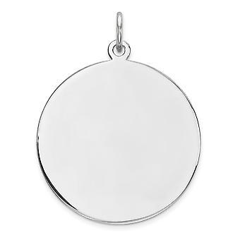 925 εξαιρετικά ασημένια γυαλισμένα χαραγμένα Engraveable στρογγυλά δώρα κοσμήματος περιδεραίων κρεμαστών κοσμημάτων γοητείας δίσκων για τις γυναίκες
