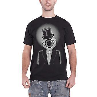 Residents T Shirt Eyeball band logo new Official Mens Black