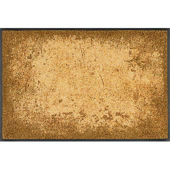 wash+dry doormat Shades of Gold washable dirt mat runner