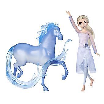 Disney Frozen 2 Elsa Fashion Doll & Nokk Figure