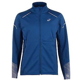 Asics Mens Gents Hooded Long Sleeve Lightweight Sports Jacket Outerwear