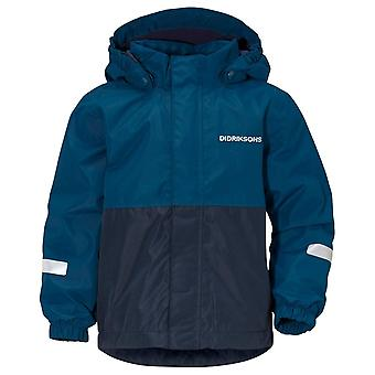 Didriksons Hurricane Blue Childrens Bri Jacke