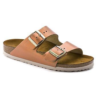 Birkenstock Arizona NL sandal 1012902 tvättad metalliskt hav koppar smal