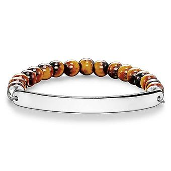Thomas Sabo Love Bridge Thomas Sabo Tigers Eye Bracelet LBA0014-045-2