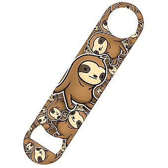 Grindstore Cute Sloth Jumble Bar Blade Bottle Opener