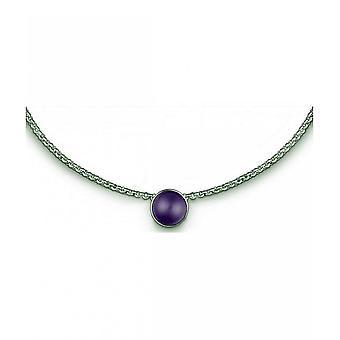 QUINN - Necklace - Women - Silver 925 - Gemstone - Amethyst - 27080933