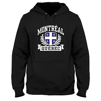 Black men's hoodie dec0499 montreal quebec