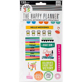 Happy Planner Stickers 5/Sheets -TGIF - Classic