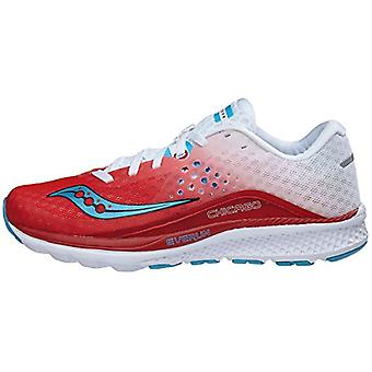 Saucony Womens kinvaara baixo Top Lace Up executando Sneaker