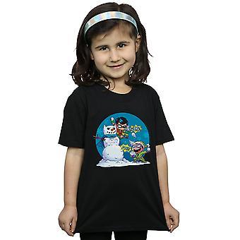 DC Comics ragazze super amici Chillin come un cattivo T-shirt